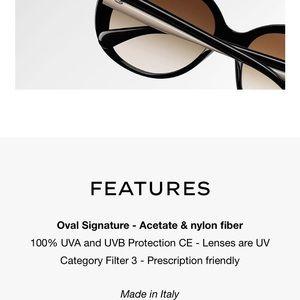 c7fc604ef47c CHANEL Accessories - CHANEL Oval Signature Sunglasses Spring 2018